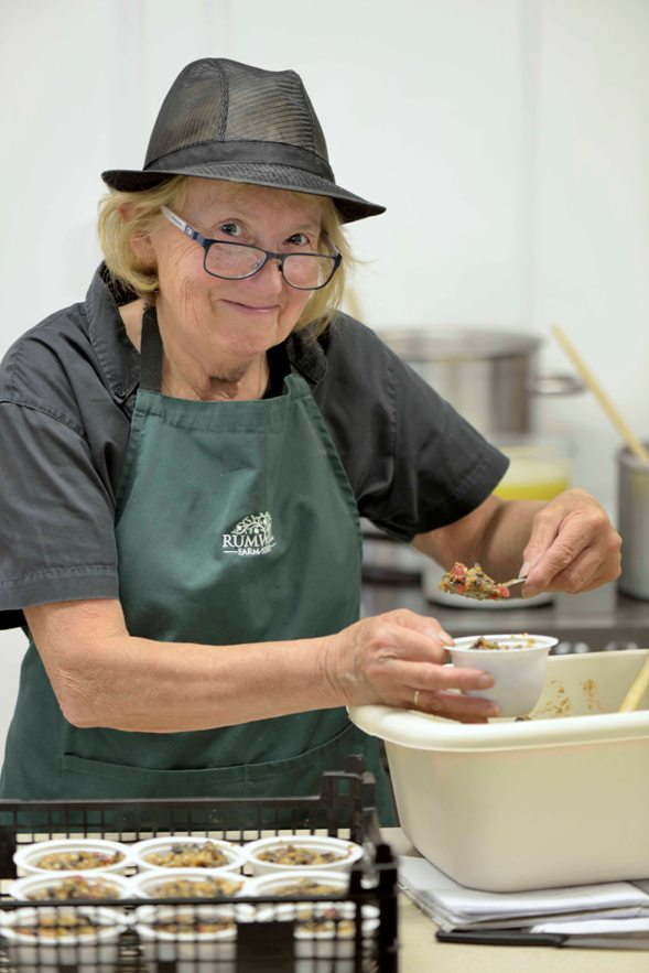 liz brown jam kitchen manager at rumwell farm shop low res - Kitchen Manager